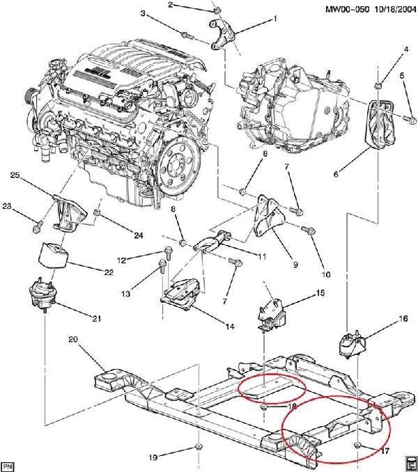 600_2008_LS4_Transmission_Mount_part 2008 chevy impala transmission diagram content resource of wiring